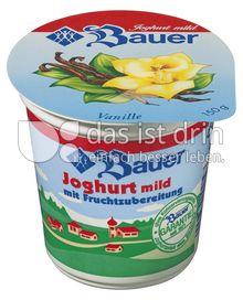 Produktabbildung: Bauer Fruchtjoghurt Vanille 150 g