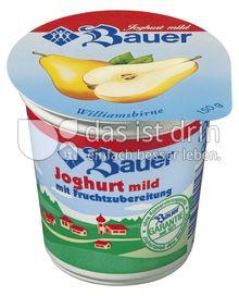 Produktabbildung: Bauer Fruchtjoghurt Birne 150 g