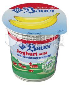 Produktabbildung: Bauer Fruchtjoghurt Banane 150 g