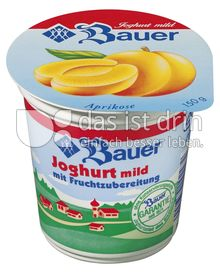 Produktabbildung: Bauer Fruchtjoghurt Aprikose 150 g