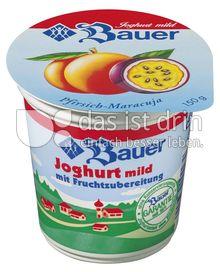 Produktabbildung: Bauer Fruchtjoghurt Pfirsich-Maracuja 150 g