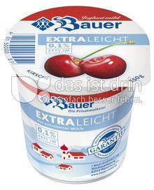 Produktabbildung: Bauer Kirsche extra leicht 150 g