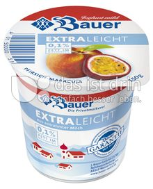 Produktabbildung: Bauer Pfirsich-Maracuja extra leicht 150 g