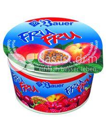 Produktabbildung: Bauer FruFru Pfirsich-Maracuja 100 g