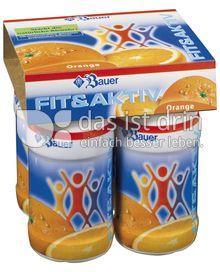 Produktabbildung: Bauer Fit & Akriv Drinks Orange 400 g