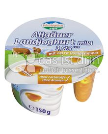 Produktabbildung: Weideglück Allgäuer Landjoghurt mild Honig 150 g