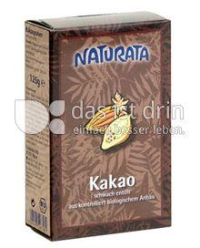 Produktabbildung: Naturata Kakao, schwach entölt 125 g