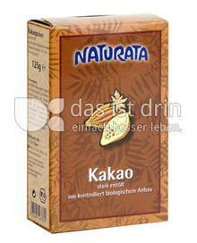 Produktabbildung: Naturata Kakao, stark entölt 125 g