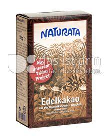 Produktabbildung: Naturata Edelkakao 125 g