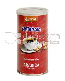 Produktabbildung: Naturata Bohnenkaffee Arabica instant 100 g