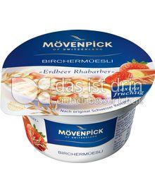 Produktabbildung: Mövenpick Birchermüesli Erdbeer- Rhabarber 150 g