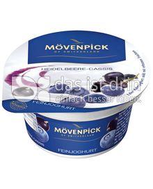 Produktabbildung: Mövenpick Feinjoghurt Heidelbeere-Cassis 150 g