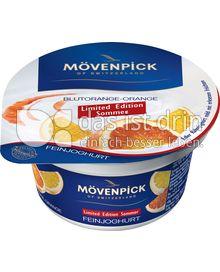Produktabbildung: Mövenpick Feinjoghurt Blutorange-Orange 150 g