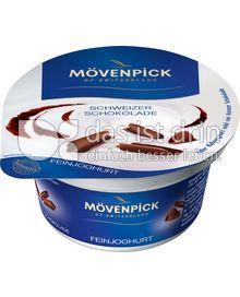 Produktabbildung: Mövenpick Feinjoghurt Schweizer Schokolade 150 g