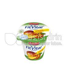 Produktabbildung: Ehrmann FitVital Diät Pfirsich-Mango 150 g