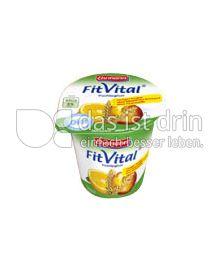 Produktabbildung: Ehrmann FitVital Diät Nektarine-Wildorange-Vollkorn 150 g