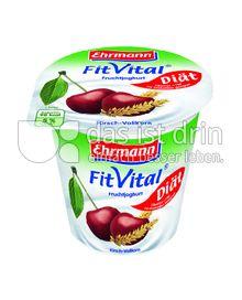 Produktabbildung: Ehrmann FitVital Diät Vollkorn Kirsch 150 g