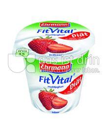 Produktabbildung: Ehrmann FitVital Diät Erdbeer 150 g