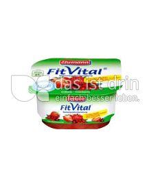 Produktabbildung: Ehrmann FitVital Diät Speisequark Erdbeer-Cranberry 150 g
