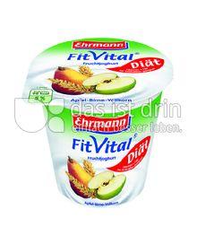 Produktabbildung: Ehrmann FitVital Diät Apfel-Birne Vollkorn 150 g