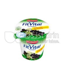 Produktabbildung: Ehrmann FitVital Diät Cassis-Holunder 150 g
