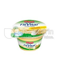 Produktabbildung: Ehrmann FitVital Diät Sahne-Grießpudding