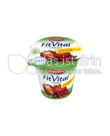 Produktabbildung: Ehrmann Fit Vital Diät Erdbeer-Cranberry 150 g