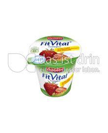 Produktabbildung: Ehrmann FitVital Diät Erdbeer- Vollkorn 150 g