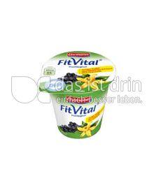 Produktabbildung: Ehrmann FitVital Diät Cassis-Vanilla 150 g