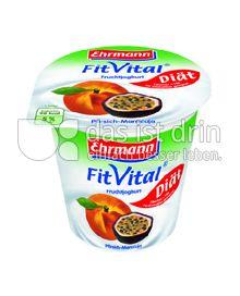 Produktabbildung: Ehrmann FitVital Diät Pfirsich-Maracuja 150 g