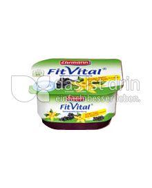 Produktabbildung: Ehrmann FitVital Diät Speisequark Cassis-Vanilla 150 g