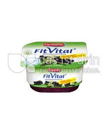 Produktabbildung: Ehrmann FitVital Diät Speisequark Cassis-Holunder 150 g