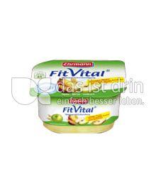 Produktabbildung: Ehrmann FitVital Diät Speisequark Apfel-Birne-Vollkorn 150 g