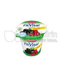 Produktabbildung: Ehrmann FitVital Diät Speisequark Himbeer-Brombeer 150 g