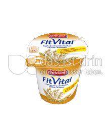 Produktabbildung: Ehrmann FitVital Verdauungsfördernd Cerealien-Ballaststoffe 150 g