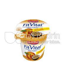 Produktabbildung: Ehrmann FitVital Verdauungsfördernd Pfirsich-Maracuja-Ballaststoffe 150 g