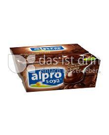 Produktabbildung: Alpro Soya Soja Dessert Dunkle Schokolade Feinherb 4 St.