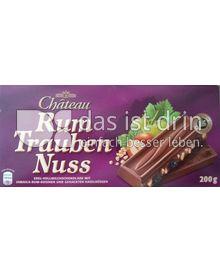 Produktabbildung: Chateau Schokolade Rum Trauben Nuss 200 g
