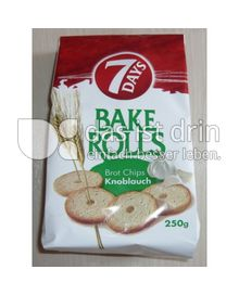 Produktabbildung: 7 Days Bake Rolls Brotchips 250 g