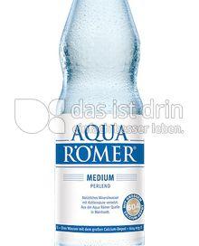 Produktabbildung: Aqua Römer Medium perlend 1 l
