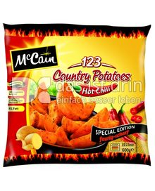 Produktabbildung: McCain 1.2.3 Country Potatoes Hot Chili 600 g