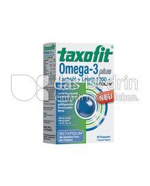 Produktabbildung: Taxofit Omega-3 plus 30 St.