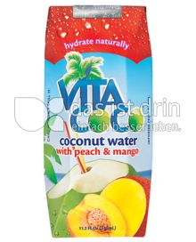 Produktabbildung: Vita Coco Peach and Mango 330 ml