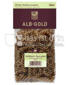 Produktabbildung: ALB-GOLD Bio Dinkel Vollkorn-Spiralen 250 g