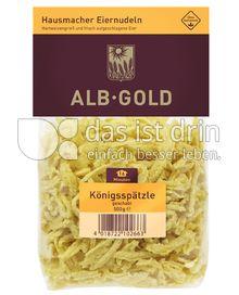 Produktabbildung: ALB-GOLD Hausmacher Eiernudeln Königsspätzle 500 g