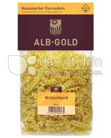 Produktabbildung: ALB-GOLD Hausmacher Eiernudeln Wellenband 500 g