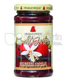 Produktabbildung: Zwergenwiese Erdbeere-Vanille Fruchtgarten 250 g