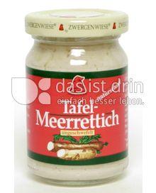 Produktabbildung: Zwergenwiese Tafel Meerrettich 90 ml
