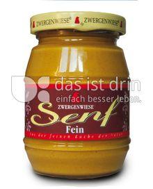 Produktabbildung: Zwergenwiese Feiner Senf 160 ml