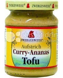 Produktabbildung: Zwergenwiese Curry-Ananas Tofu Brotaufstrich 125 g
